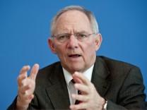 Pk Bundesfinanzminister Schäuble