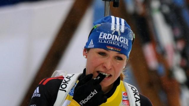 Biathlon WM-Massenstart der Frauen