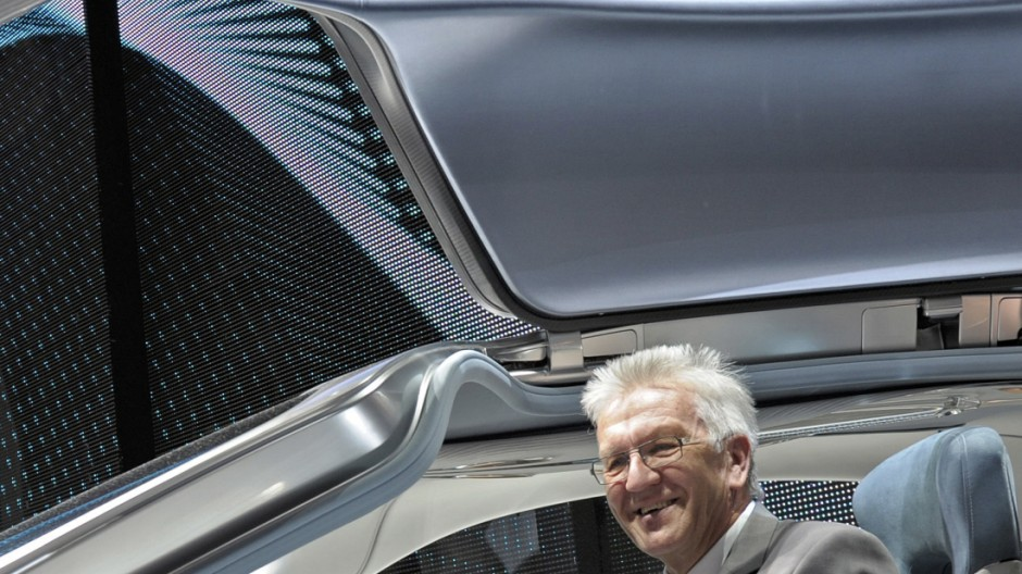 Kretschmann: Gruenen schon immer Autofahrerpartei