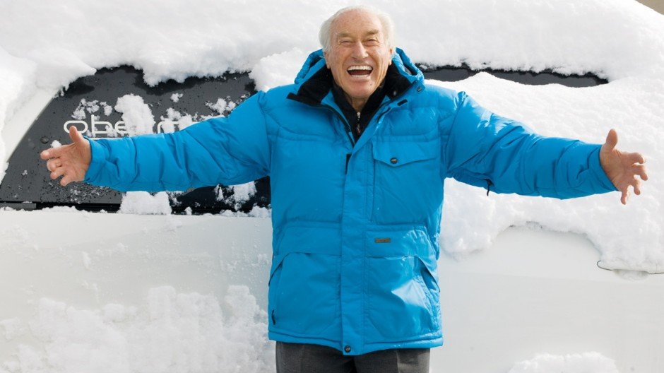 Ski Zum Ende der Skisaison in die USA