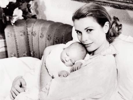 80 Jahre Grace Kelly Nach Der Geburt Von Caroline Furstin Gracia