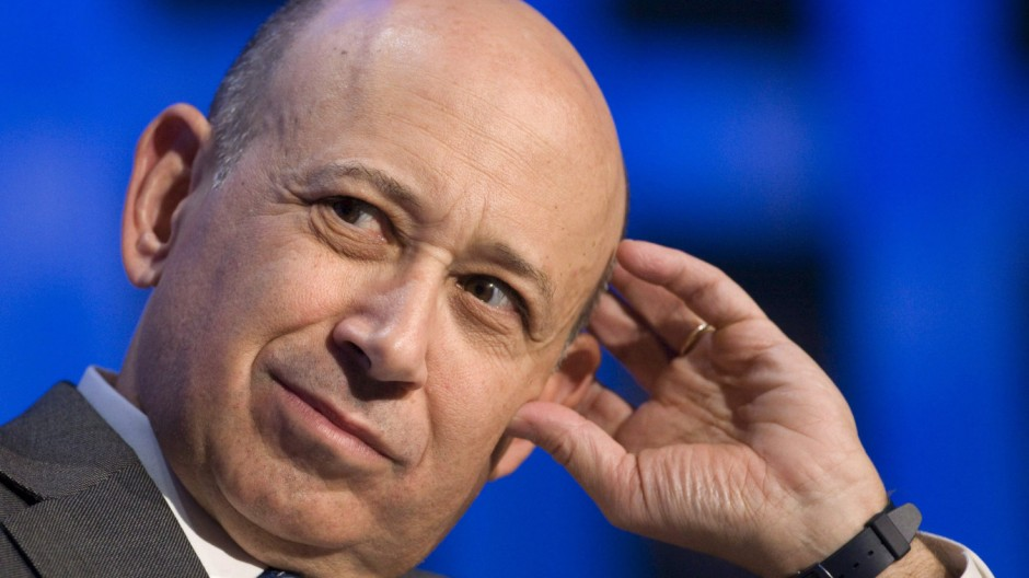 Goldman Sachs Chef Lloyd Blankfein Greg Smith Bank