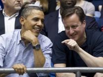 Brack Obama, David Cameron