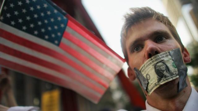 Politik und Geld, Wahlkampf in USA