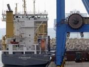 """Liegt im Hafen von Aschdod: die """"Francop""""; AFP"""