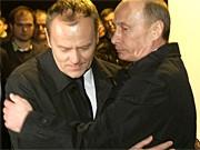 Donald Tusk, Wladimir Putin, AFP