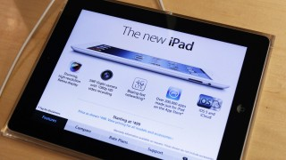 Apple's newest iPad is seen at the 5th Avenue Apple Store in New York