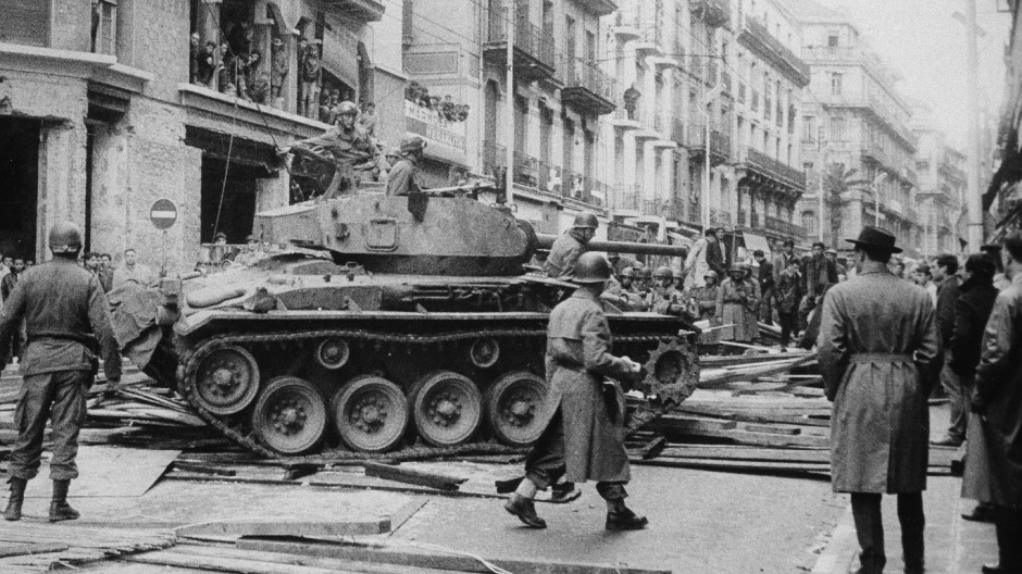 Das algerisch-franzoesische Trauma