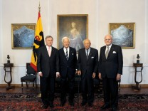 Ehemalige Bundespräsidenten