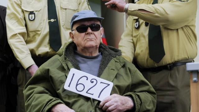 File photo of  convicted Nazi death camp guard John Demjanjuk