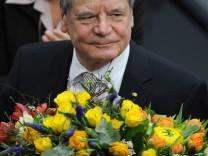 Der elfte seiner Art: Bundespräsident Joachim Gauck