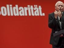 Oskar Lafontaine Die Linke Saarland Landtagswahl