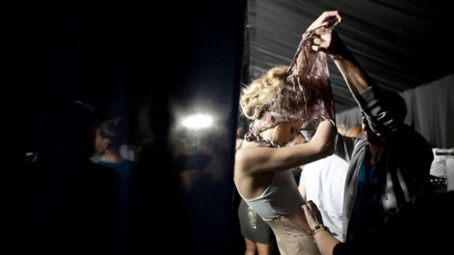Behind The Scenes At Tel Aviv Fashion Week