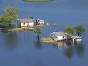 Überflutung in Mexiko, dpa