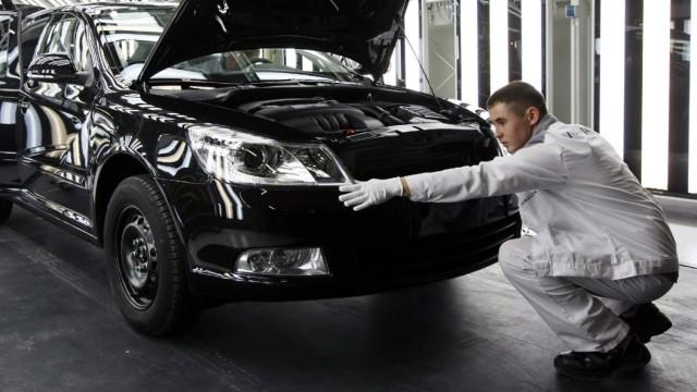Volkswagen-Werk in Russland