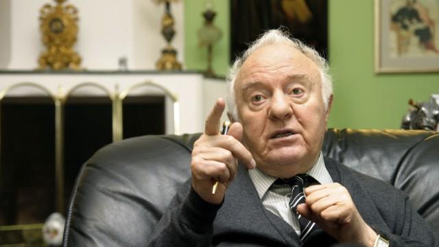Eduard Schewardnadse Genscher