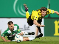 DFB-Pokal: SpVgg Greuther Fuerth - Borussia Dortmund