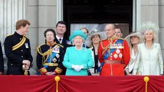 Prinz William und Prinz Charles