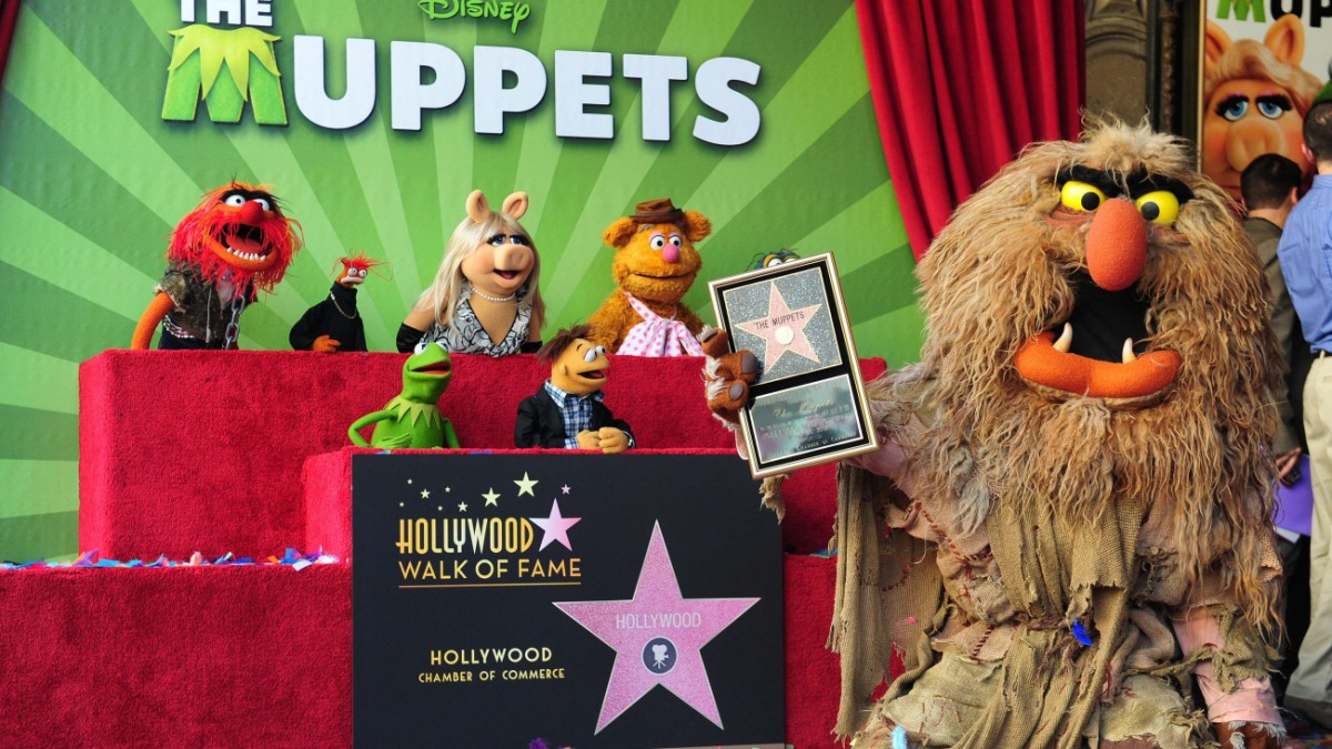 * Muppet Movie .. * * * * Auf Nach Hollywood ...