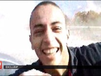 An undated and non-datelined frame grab from a video broadcast by French national television station France 2 who claim it shows Mohamed Merah