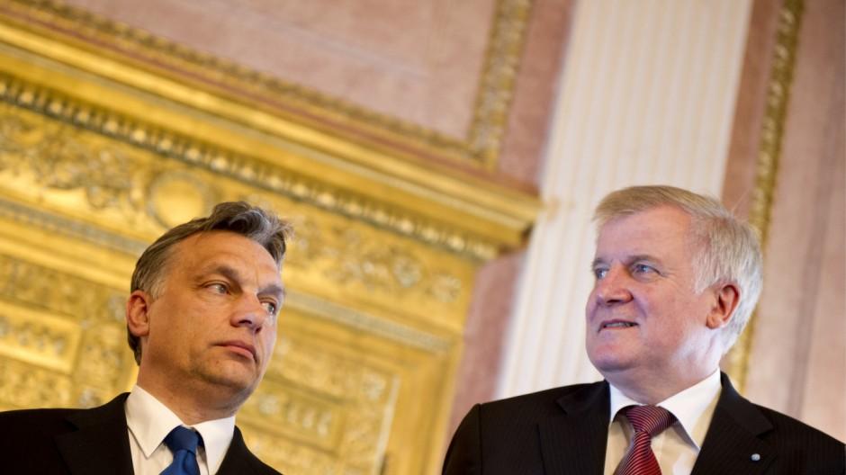 Seehofer trifft ungarischen Ministerpraesidenten