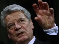Spricht beim SZ-Führungstreffen erstmals über die Verantwortung der Wirtschaft in Zeiten der Finanzkrise: Bundespräsident Joachim Gauck