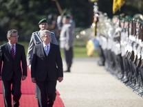 Empfang des Bundespraesidenten im Schloss Bellevue