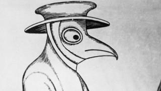 Pestmaske aus dem 16. Jahrhundert