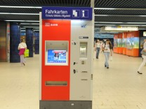 MVV Fahrkartenautomat, 2010