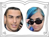 Baptiste Giabiconi und Katy Perry