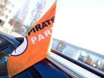 Piraten - Parteitag in Münster