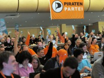 Piraten - Parteitag in Münster