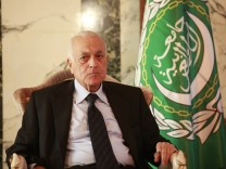 Arab League Secretary General In Iraq