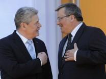 Joachim Gauck, Bronislaw Komorowski