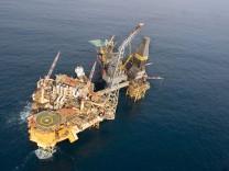 Leck an Plattform in der Nordsee - Gas strömt weiter