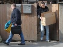 Razzia bei Neonazis in Ostdeutschland