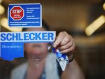 Schlecker-Filiale schließt