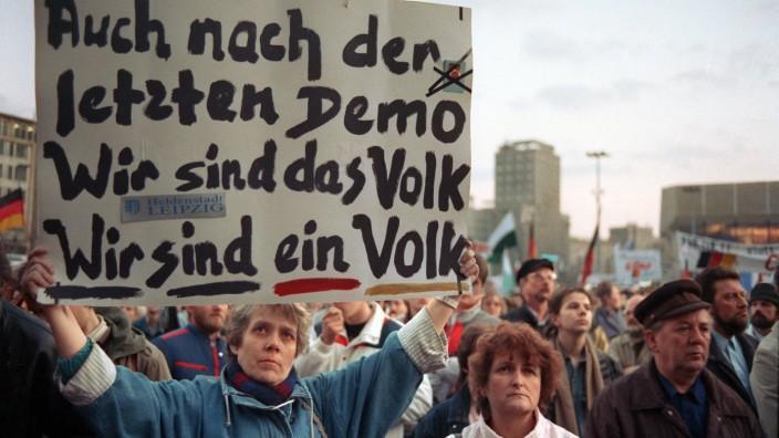 """Leipzig will Revolutionsruf ´Wir sind das Volk"""" weiter schützen"""