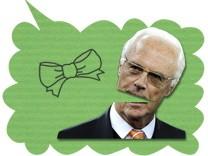 Wenn Promis sülzen: Schmachtwort Franz Beckenbauer
