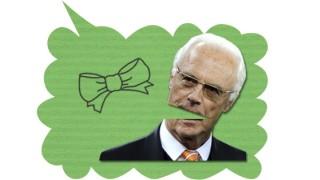 Schmachtwort Franz Beckenbauer