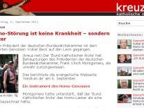 kreuz.net Homphobie
