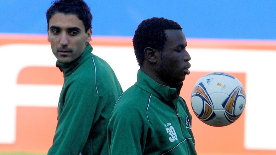 Training Hannover 96 in Madrid