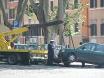 Abschleppen in Rom, 2004