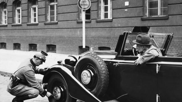 Maßnahme gegen Verkehrssünder, 1938