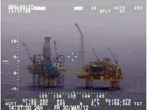 Total says flare at gas and oil platform extinguished