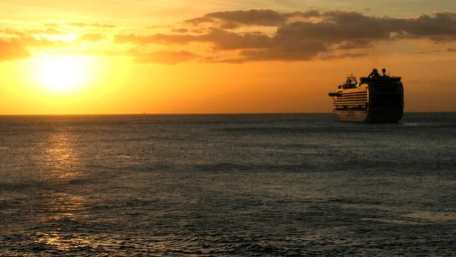 Kreuzfahrt Sonnenuntergang
