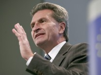 Günther Oettinger Türkei EU Beitritt