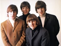 The Beatles: John Lennon, Paul McCartney, Ringo Starr und George Harrison