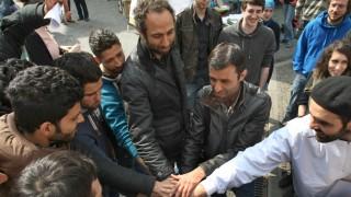 Hungerstreikende zu Gesprächen in das Würzburger Rathaus geladen