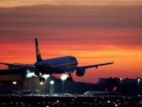 Flugzeuglandung - Berlin Tegel